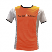 Camiseta Padel Black Crown Hombre Keep