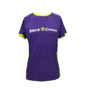 Camiseta Padel Black Crown Hombre Let