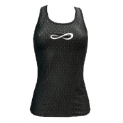 Camiseta Padel Endless Mujer Speed Holes GeoBlack