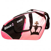 Paletero Padel Black Crown Rosa