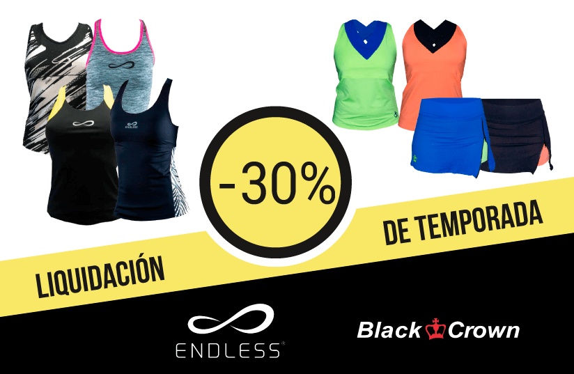 Liquidación de temporada ropa Black Crown y Endless