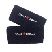 Muñequera Padel Black Crown