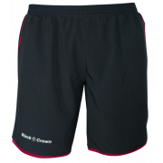 Pantalón Padel Black Crown Hombre Willy Negro Granate 2018