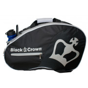 Paletero Padel Black Crown Negro Gris