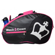 Paletero Padel Black Crown Negro Rosa
