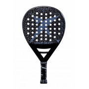 Pala Padel Drop Shot Dark Black