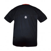 Camiseta Black Crown Max Negro-Coral