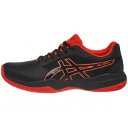 Zapatilla De Padel Asics Gel Game 7 Clay OC GS Negro/Rojo