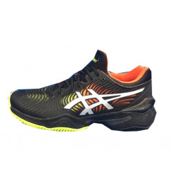 Zapatilla De Padel Asics Court FF 2 Clay Black/White