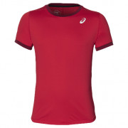 Camiseta Padel Asics Hombre Club SS Top Speed Red