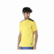 Camiseta Padel Bullpadel Coconut amarillo