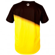 Camiseta Black Crown Tour negro amarillo