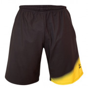 Pantalón Padel Black Crown Tour negro amarillo