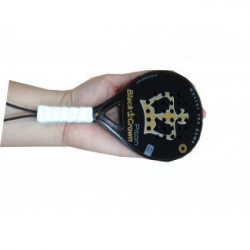 Pala Padel Black Crown Mini Piton