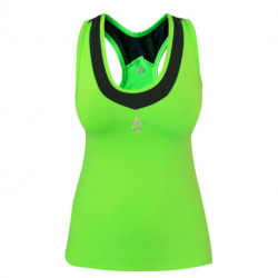 Camiseta Padel Black Crown Tarina Verde Negro