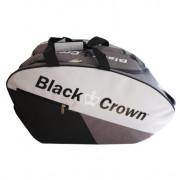 Paletero Padel Black Crown Calm Gris Negro
