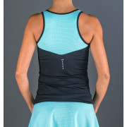 Camiseta Padel Endless Lux II Black Blue